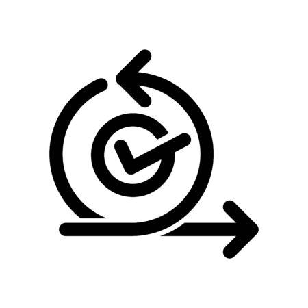 Scrum icon, Agile icon, vector