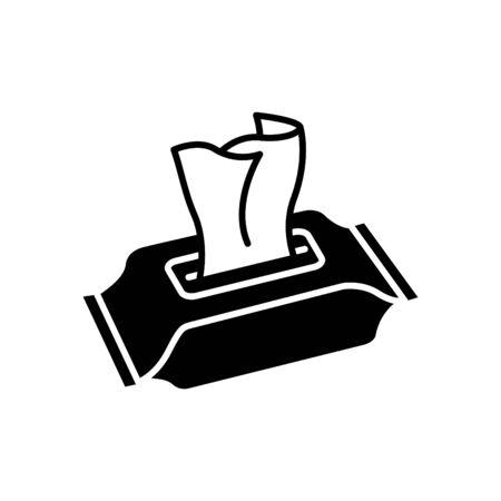Feuchttücher-Symbol