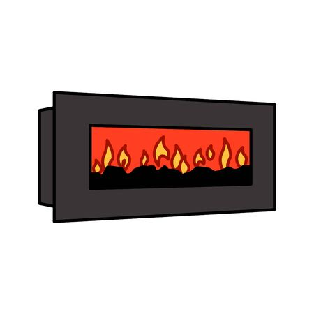 Electric Wall Fireplace icon