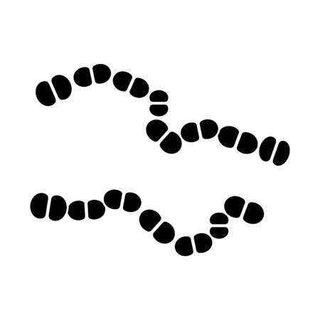 streptococcus icon, vector