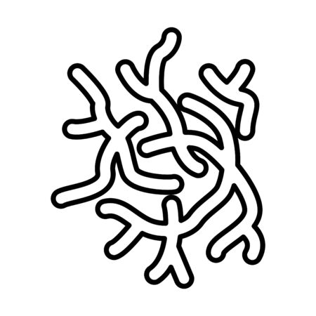 bifidobacterium icon, vector