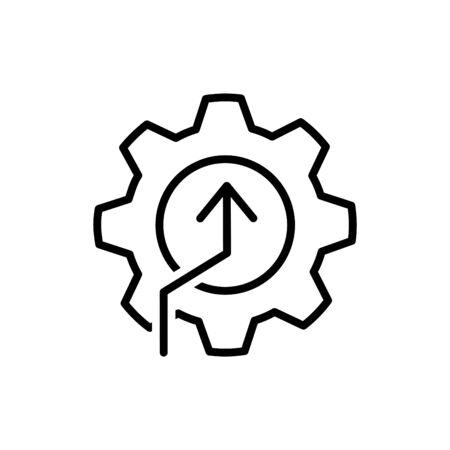 kpi icon, vector