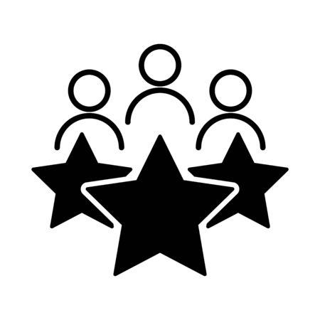 Icono de experiencia del cliente