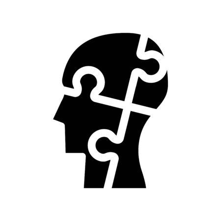 Autism icon, vector