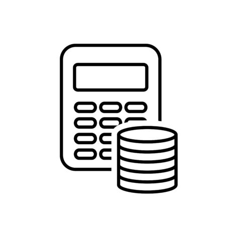 Budget icon, vector Stockfoto - 127528004