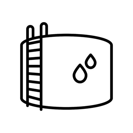 Water tank icon