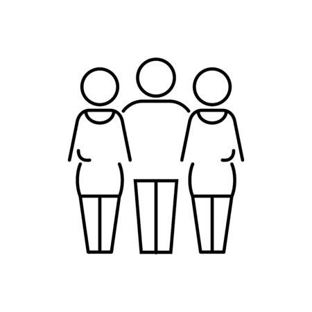 bigamous, Polygamy icon