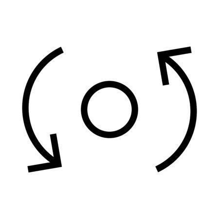icono de coherencia, vector Ilustración de vector
