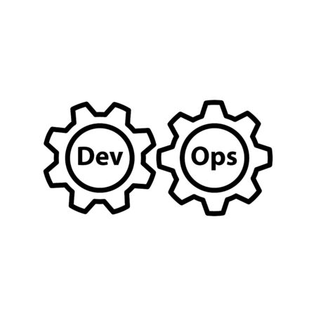 DEVOPS icon, Vector 写真素材 - 127615601
