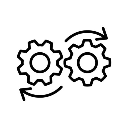 DEVOPS icon, Vector 写真素材 - 127615612