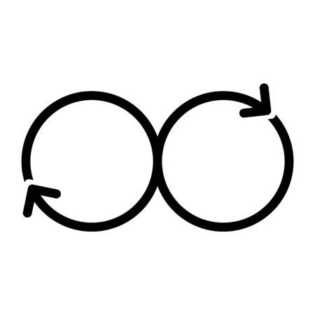 DEVOPS icon, Vector 写真素材 - 127615640