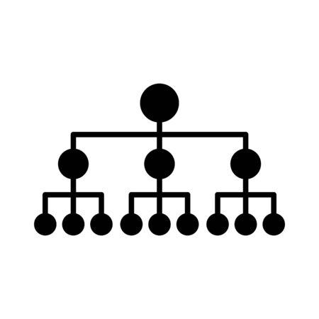 Neurale hub-pictogram