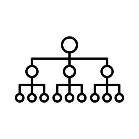 Icono de centro neuronal