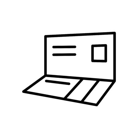 bankbook icon, vector Illustration