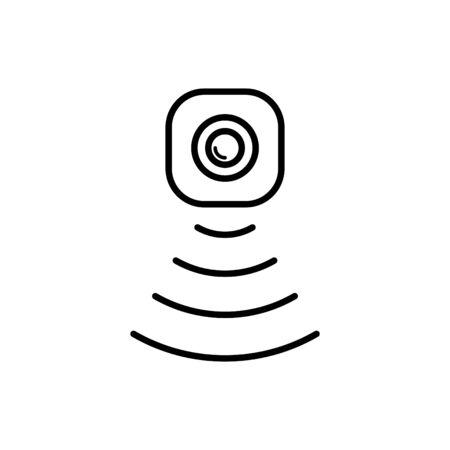 Icône de capteur de mouvement