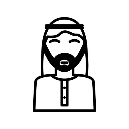 Arabic man icon