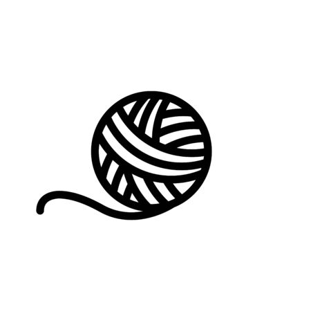 Knitting icon, vector illustration. 向量圖像