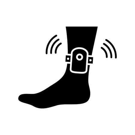 Ankle monitor icon