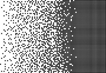 disintegration, Dispersed background Ilustração