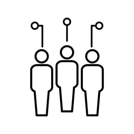 social computing icon
