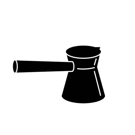 turkish coffee pot icon, Vector illustration 向量圖像