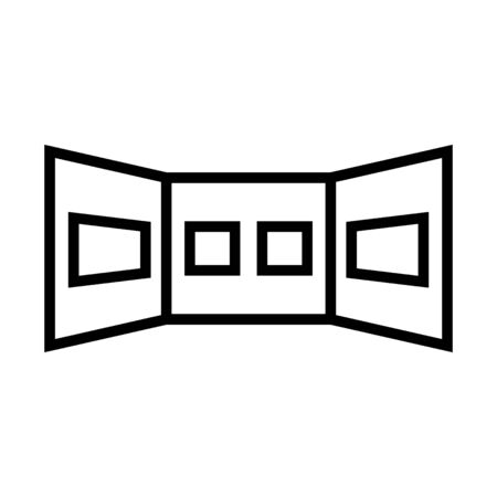 gallery icon, Vector illustration