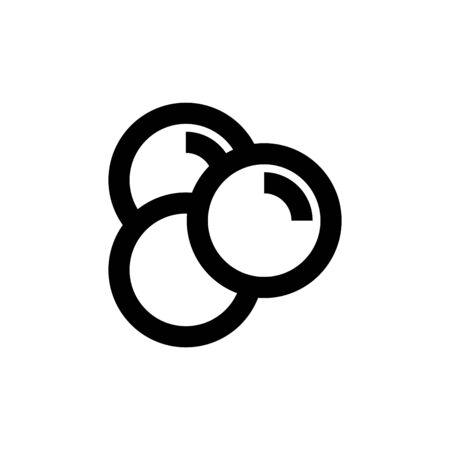 Trans fat icon, vector illustration