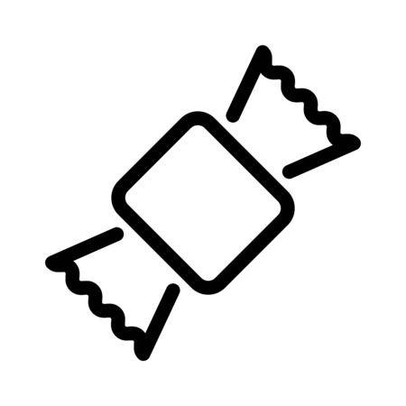 Toffee icon, logo design - vector
