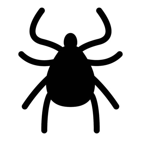 Tick icon insect icon, vector illustration