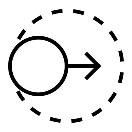 Scalability icon, vector line icon
