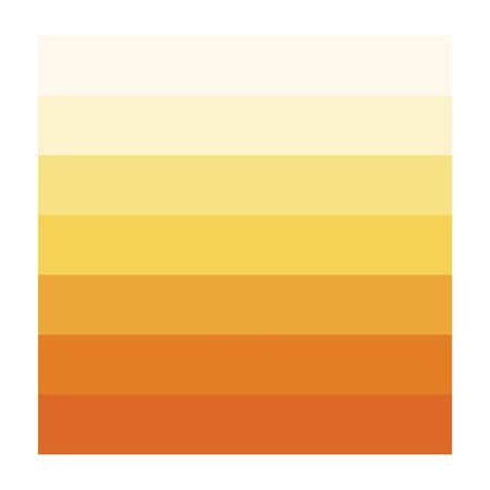 Urine color, Dehydration Urine Color Chart, vector illustration