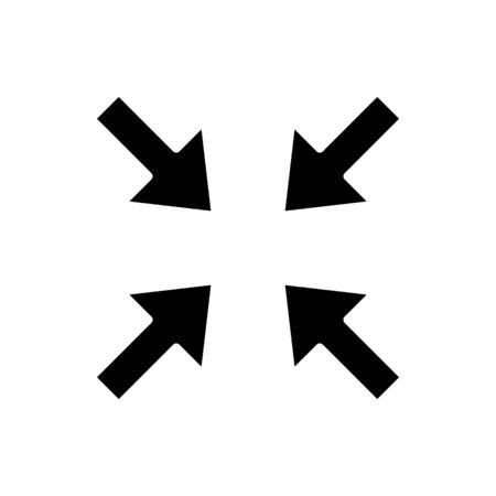 Constraint icon, vector line illustration