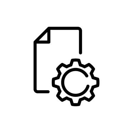Standard icon, Certificates icon, vector illustration Foto de archivo - 138284304