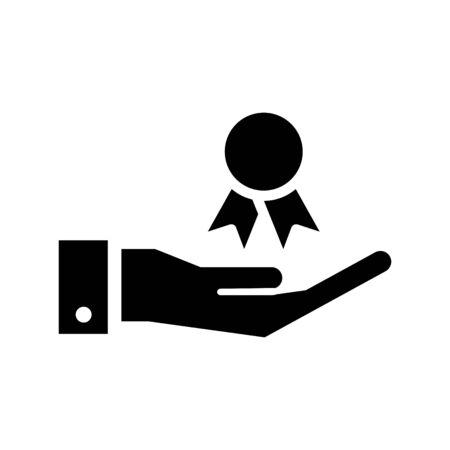 Standard icon, Certificates icon, vector illustration Foto de archivo - 138284305