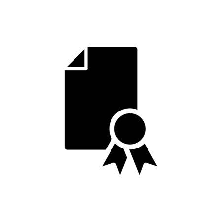 Standard icon, Certificates icon, vector illustration Foto de archivo - 138284310