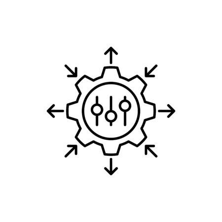 Regulation icon, Business icon, vector