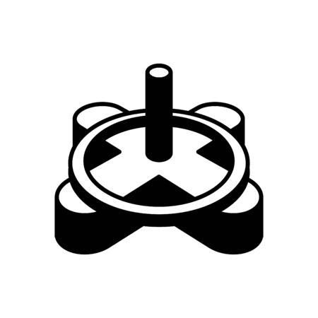 Tile Spacer icon, vector line illustration
