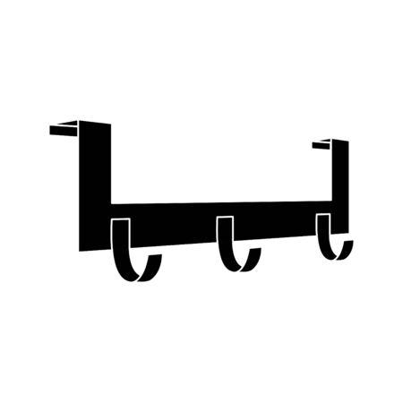 Door Hook hanger icon, vector illustration