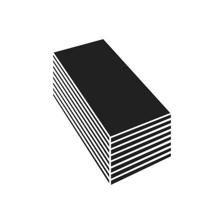 Gypsum Board Icon, vector illustration