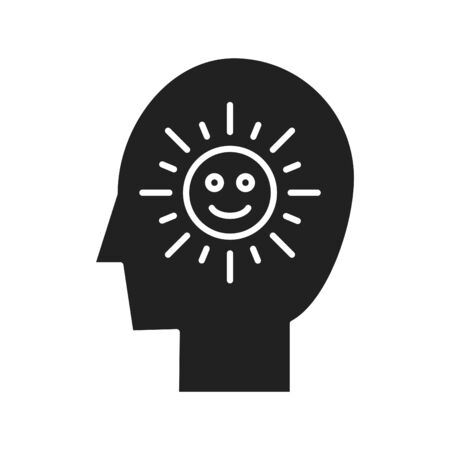 Optimism icon 向量圖像