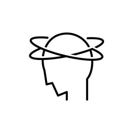 Stress icon, vector illustration 向量圖像