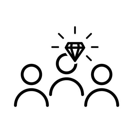 Operational excellence icon 일러스트