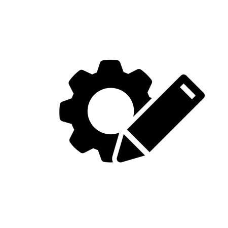 customization icon, vector illustration Stock Illustratie