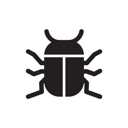 bug icon Illustration