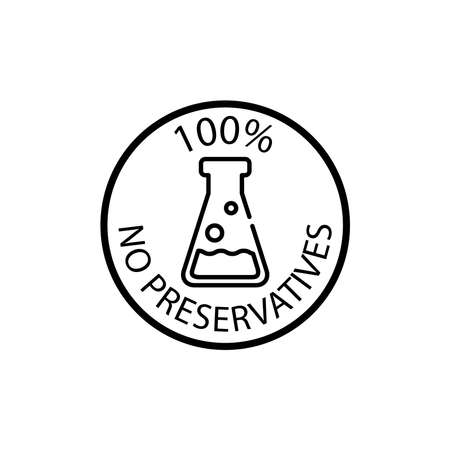 no preservative icon
