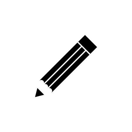Pencil icon, vector illustration Illustration