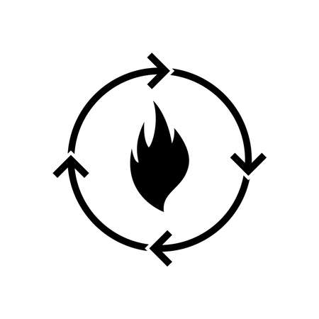 Metabolism icon, vector illustration
