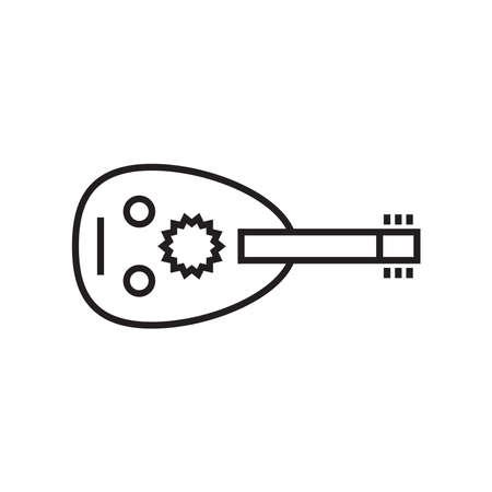 Oud icon - vector illustration. 向量圖像