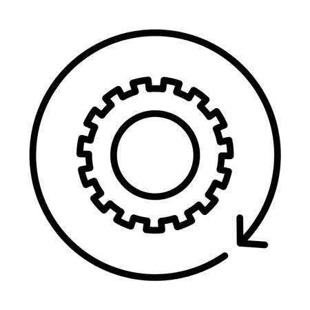 workflow icon vector illustration