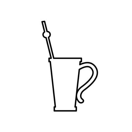 yerba mate, Vector illustration
